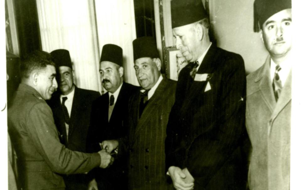 Major General Mohammed Najib visit to the Gaza Strip in 1952..pdf
