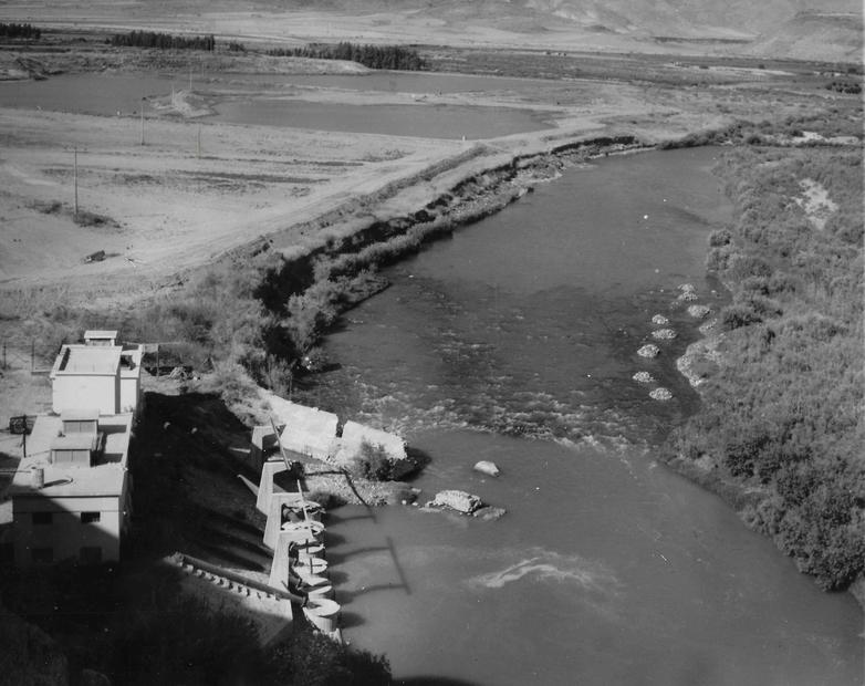 ضخ الماء قرب طبريا في عام 1946.jpg