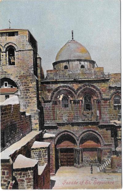 كنيسة القيامة - القدس في العشرينات.jpg