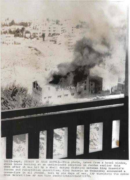 المعارك في  خلال ايلول الاسود عام 1970.jpg