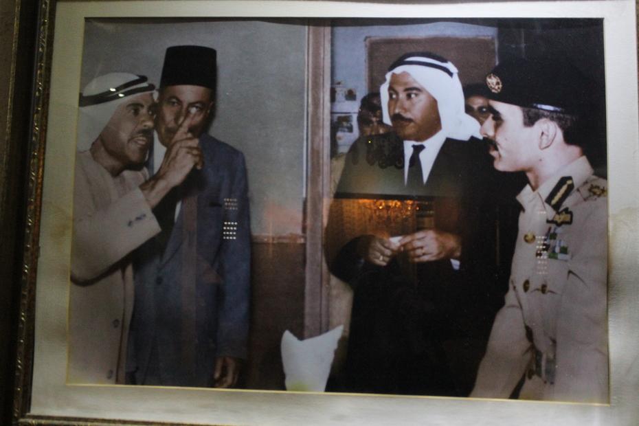 زعل احمد محارب مع الملك حسين.JPG