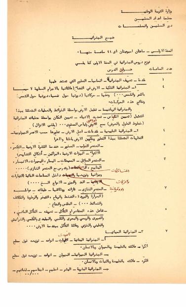 المعلم في منهج الجغرافيا الصادر عن وزارة التربية الوطنية اللبنانية في الستينات.PDF