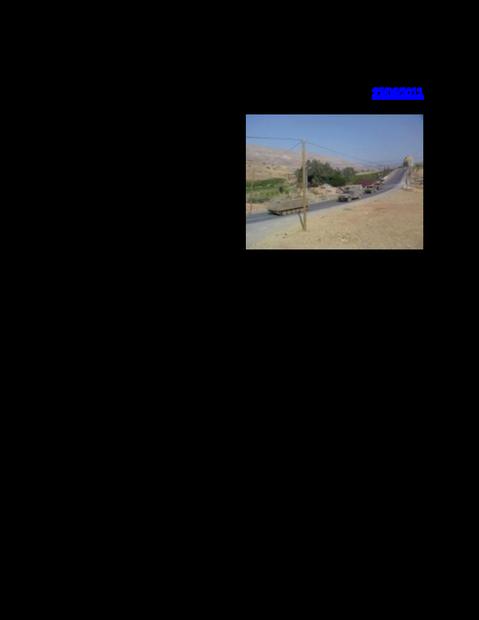قوات الإحتلال تواصل التدريب العسكري في الأراضي المحتلة.pdf