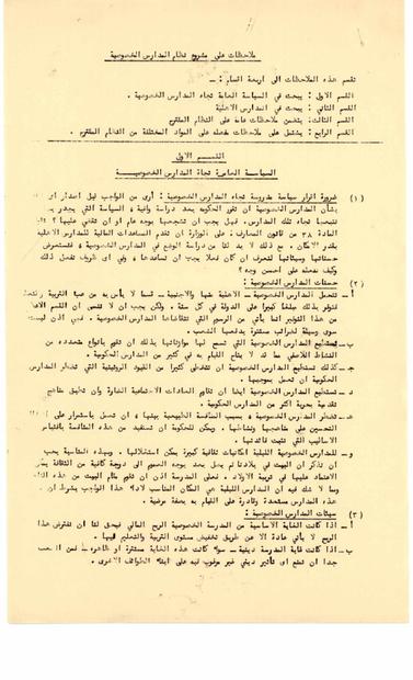على مشروع نظام المؤسسات التعليمية الخاصة من قانون التربية والتعليم عام 1966.PDF